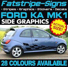 FORD KA MK1 GRAPHICS STRIPES DECALS STICKERS CAR VINYL ST STREET SPORT 1.2 1.4