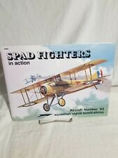 Squadron Signal Publications Aircraft No.93 Spad Fighters In Action #1093