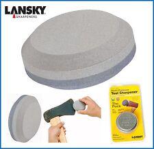 Lansky Puck Dual Grit Tool Sharpening Stone LPUCK - damaged packaging