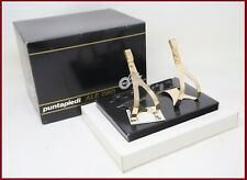 NOS ALE ORO GOLD PLATED TOE CLIPS CAMPAGNOLO SUPER RECORD QUILL PEDALS VINTAGE