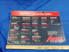 Airtex Car Fuel Injection Pump Advertising Sign Store Counter Mat Laminated
