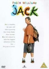 Jack DVD Robin Williams New and Sealed Australia All Regions