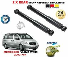 REAR LEFT + RIGHT SHOCK ABSORBERS SET for MERCEDES BENZ VIANO W639 MPV 2003->on
