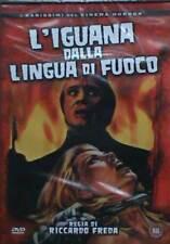 L'iguana dalla lingua di fuoco DVD SIGILLATO raro horror Riccardo Freda no edito