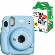 ??Fujifilm Instax Mini 11 Sofortbildkamera Polaroid Sky Blue  +  20 Bilder