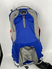 Osprey Poco Plus Hiking Child Baby Carrier Back Pack Bag With Sunshade