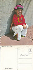 NORTH AMERICAN INDIANS YOUNG BOY - HOPI TRIBE UNUSED COLOUR POSTCARD
