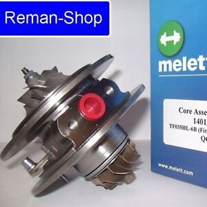 Original Melett UK turbocharger cartridge BMW 535d E60 E61 3.0 272 bhp