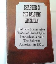 Collectible Legend of the Plains Vol IV Trains Chapter 3 The Balwin American NIB