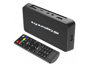 Premium 1080p HDMI YPbPr RCA Video DVR With Timed Recording + 4K Input Support