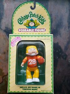 Vintage 1984 Cabbage Patch Kids Poseable Figure First Edition Trevor Marc