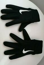 Boys NIKE hyperwarm Grip Gloves football size small