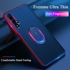 For Huawei Honor 20 Pro 20 Lite Slim Luxury Magnetic Car Ring Holder Case Cover