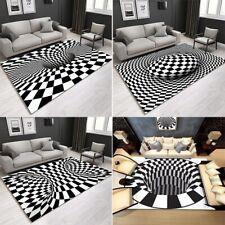 Optisch 3D Effekt Teppich Teppiche für Wohnzimmer Arbeitszimmer Schlafzimmer HT