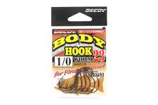 Decoy Worm 23 Body Hook for Wacky Rig Size 1/0 (9753)