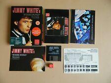 Jimmy White's Whirlwind Snooker Limited Edition Big Box Atari ST Game RARE Retro
