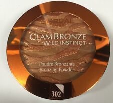 LOREAL Glam Bronze Wild Instinct Bronzing Powder 302 Medium 7.5g