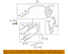 NISSAN OEM-Radiator Assembly Upper Insulator 2150610V00