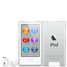 NEW! Apple iPod nano 7th Generation Silver (16 GB) MP3 Player - 90 Days Warranty