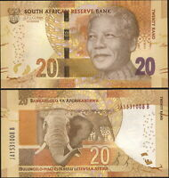 South Africa 20 Rand. ND (2015) UNC. Banknote Cat# P.139b