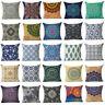 18'' Totem Mandala Cotton Linen Throw Pillow Case Cushion Cover Home Sofa Decor
