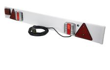 4 Ft LED Trailer Board Trailor Lights Fog Light 6m Cable Caravan Van Car Boat CE