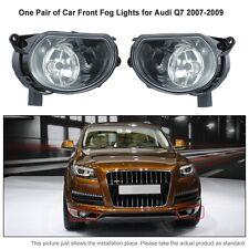 Pair of Car Front Fog Lamp LED Lights Light for Audi Q7 2007-2009 08 Auto CA00
