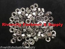 (5) M8-1.0 Metric FINE Thread Hex Nut Stainless Steel 8mm Nuts With 13 Hex