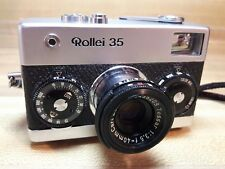 Rare Rollei 35 w/Zeiss Tessar 40mm f3.5 - Very Early Singapore