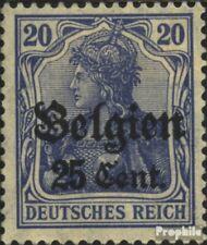 Duits. Land Post in België 18b gestempeld 1916 Germania
