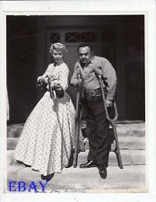 Barbara Stanwyck Edward G Robinson VINTAGE Photo The Violent Men