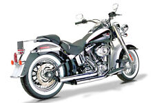 Samson Motorcycle Exhaust Big Guns 3 Staggered Pomona's S-831X2 07-11 Softail
