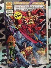 Ultraverse Origins #1 (Malibu Comics, Jan 1994) Variant Gatefold Cover ~ Vf