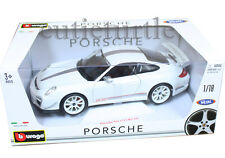Bburago Porsche 911 GT3 RS 4.0 1:18 Diecast 11036 White