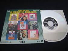 VA Warner Home Video Highlights Japan Promo only Mini Laserdisc Beatles Madonna