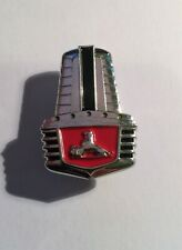 FJ Holden Bonnet Badge Red/Black/Chrome Hat Pin, Lapel Pin, 2 clutches, Gift