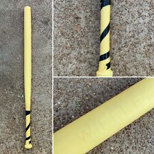 WIFFLE BALL BAT - Vtg 1st Generation 1959-1974 Yellow Smooth Handle Black Tape
