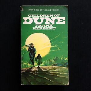 Frank Herbert - Children Of Dune - NEL - 1978 Pennington Cover Art Vintage Scufh