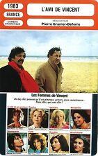 Movie Card. Fiche Cinéma. L'ami de Vincent (France) Pierre Granier-Deferre 1983