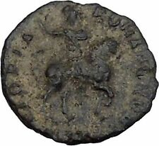 Honorius on  horse 392AD Authentic Ancient Roman Coin  i44513