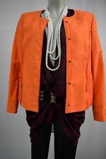 BIANCA Frühling Sommer Blazer Jacke 38 Rundhals Edel in Orange