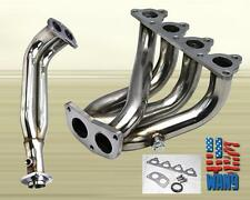Exhaust Racing Header Sohc D-Series D15 D16 1.5L 1.6L Civic Crx Del Sol 88-00