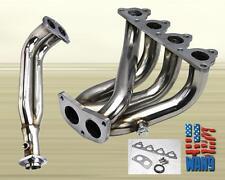 For 1988-2000 Honda Civic Crx D-Series 4-2-1 Stainless Steel Header Manifold