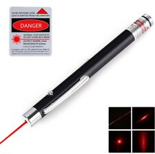 650nm Aaa Red Laser Pointer Pen Visible Beam Super Light Pet Cat Dog Toy Lazer