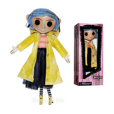 "10"" CORALINE doll RAINCOAT poseable REPLICA DOLL prop NECA rain coat NEIL GAIMAN"
