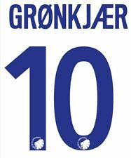Gronkjaer #10 Fc Copenhagen 2007-2008 Away Football Nameset for shirt