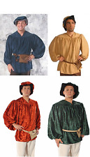 ADULT MENS RENAISSANCE PEASANT SHIRT PIRATE MEDIEVAL MALE COSTUME SHIRT