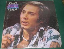 PAUL ANKA - Paul Anka Live (LP, 1975) VG/VG+