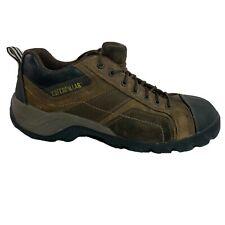 CAT Caterpillar Composite Toe Work Shoes / Boots Brown w/ Black Men's Size 12