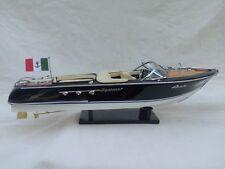 "New Riva Aquarama 21"" Cream Seat Quality Wood Model Boat L50 Free Shipping"